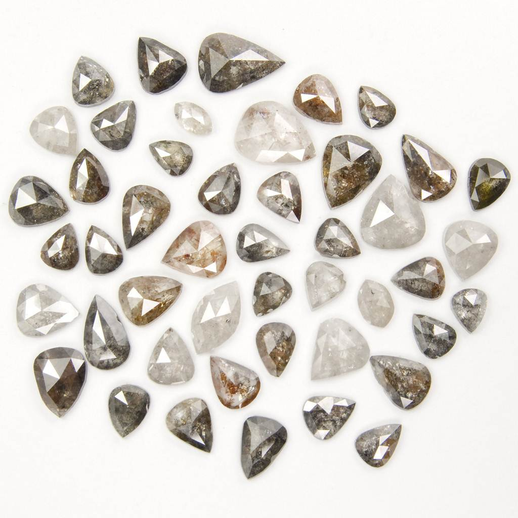 lower grade quality Diamonds well polished