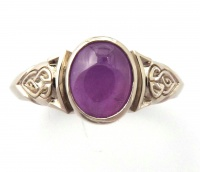 167rv_ring_18wg_celtic_knot_design_oval_star_sapphire5575sep2012a