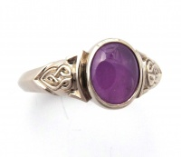 167rv_ring_18wg_celtic_knot_design_oval_star_sapphire5575sep2012b