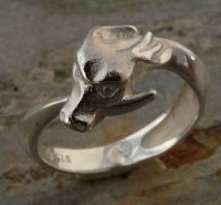 Ouroboros Ring SterlingSilver without wings