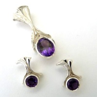 457_poi_pendant_waterfall_design_earring_set_ag_facetted_natural_amethysts_1st_grade_2015jan3_27_1382214