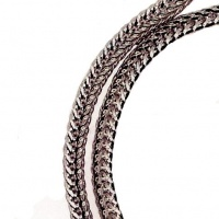 Foxtail Chain Silver1.50mm