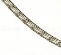 Chain Oat grain ( Haferkornkette ) 925 Sterling Silver 1.45mm thickness