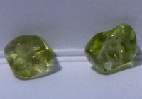 tumbled peridot pieces